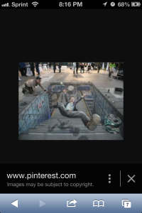 3D Street Art by Julian Beever