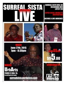 Live CD flyer